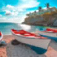 Boats on the Beach, Curacao