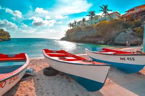 Boats on the Beach, Curacao