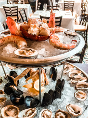 Seafood Tower at Bouchon Beverly Hills -