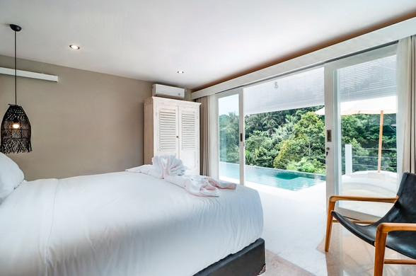 Ubud Villa Bedroom