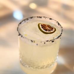 Smoked Margarita at the Mercedes Bar
