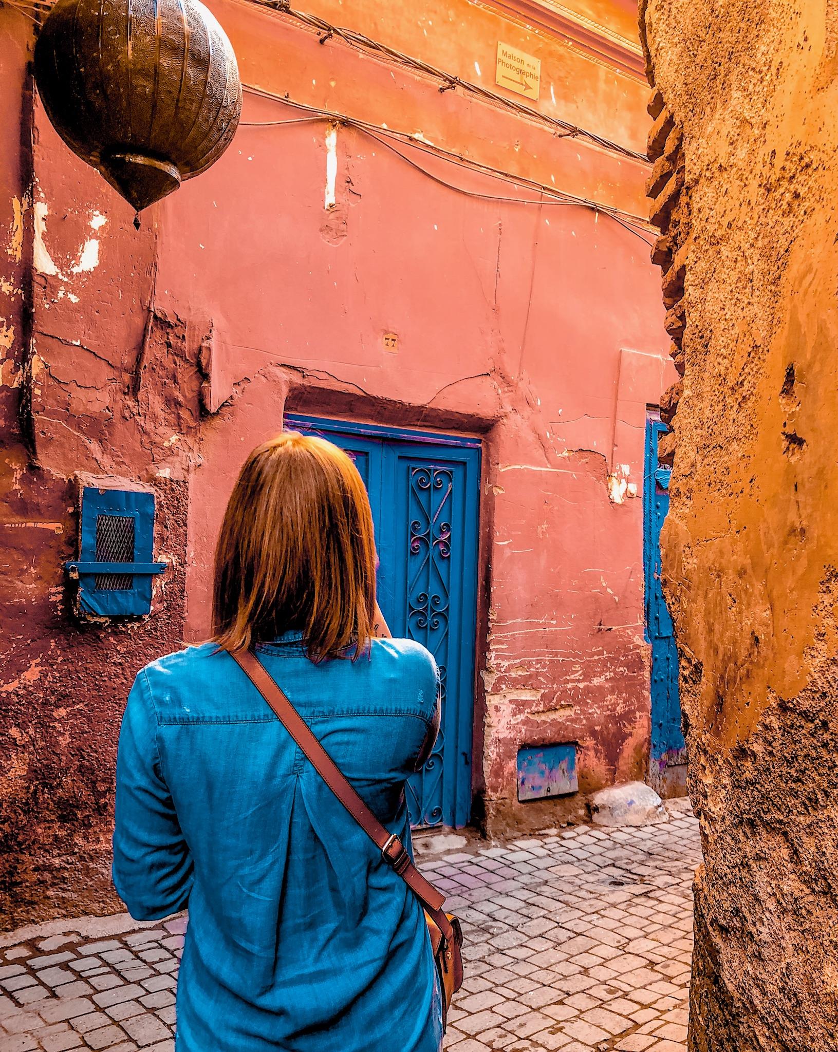 Strolling through Marrakech