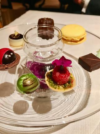 Sweets at Joel Robuchon