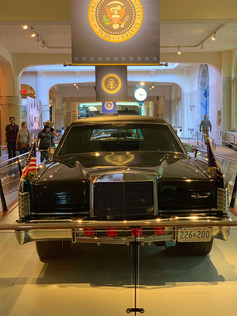 JFK's Limo, at The Henry Ford Museum