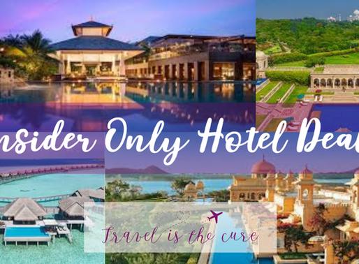 Insider Only Hotel Deals