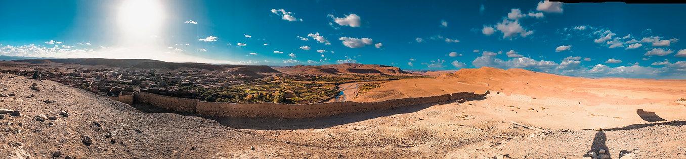 Views of the Desert from Aït Benhaddou