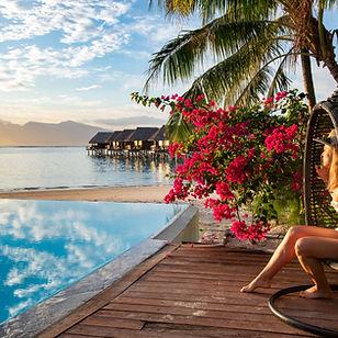 Pool Views _ Sofitel Moorea la Ora Beach