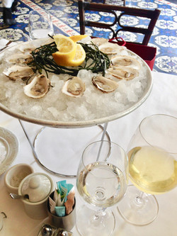 Oysters at Bouchon