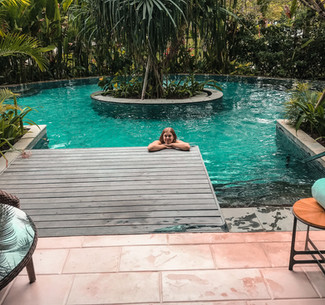 Our Suite with Pool Access at the Ritz Carlton Nusa Dua