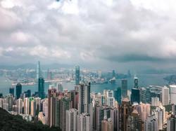 HK Skyline from Victoria Peak Lookou