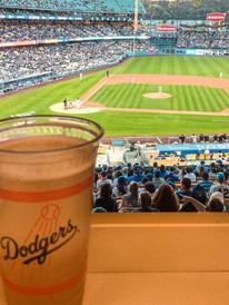 Dodger's Baseball Game