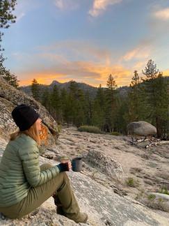 Sunset in Domeland Wilderness