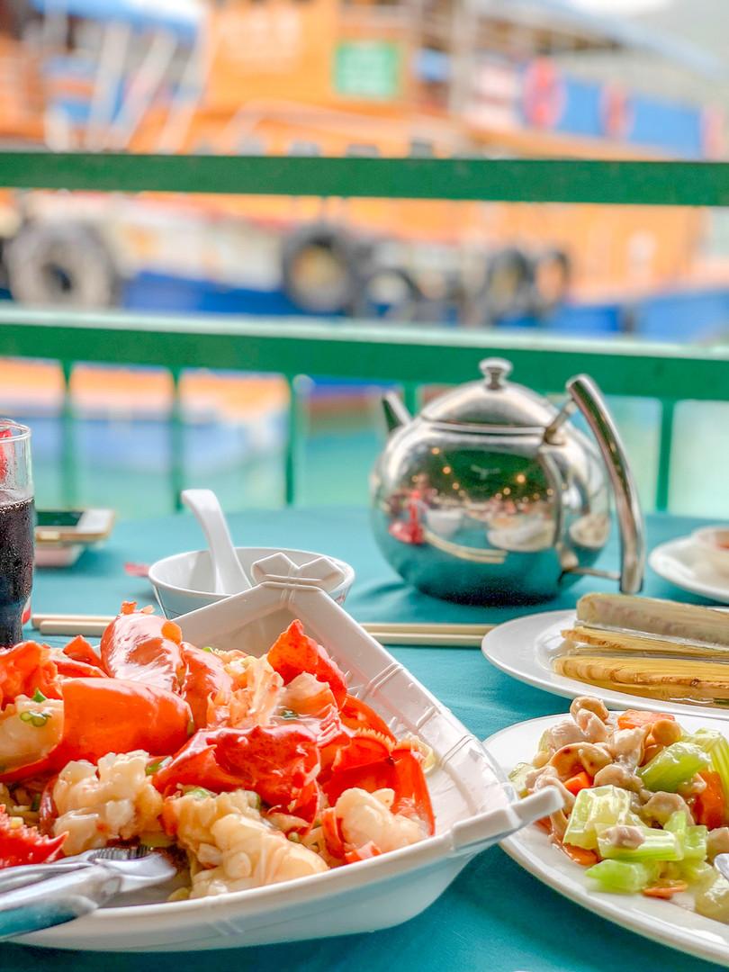 Seafood on Lantau