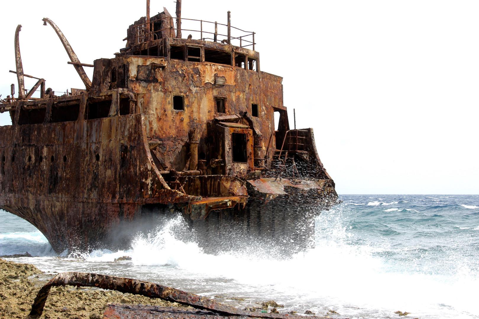 Abandoned Ship on Klein