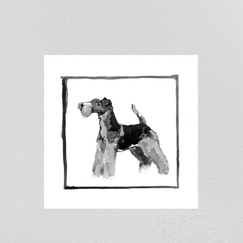 A Very Modern Dog Wire Fox Terrier