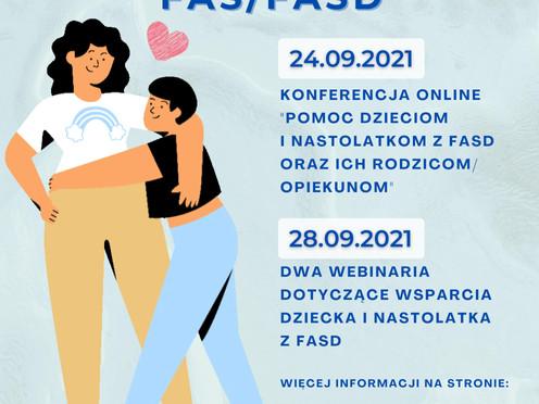 09 września - Międzynarodowy Dzień FASD, a My będziemy obchodzić 24 i 28 września - Zapraszamy!