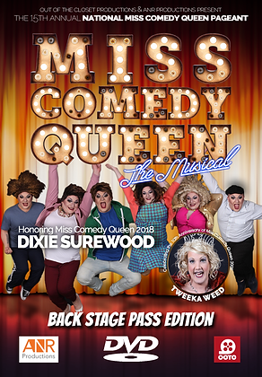 Miss Comedy Queen National 2019 DVD