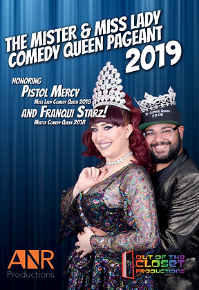 Mister/Miss Lady Comedy Queen 2019