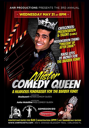 Mister Comedy Queen 2017 DVD