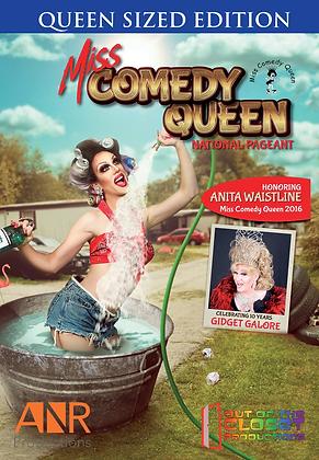 Miss Comedy Queen National 2017 DVD