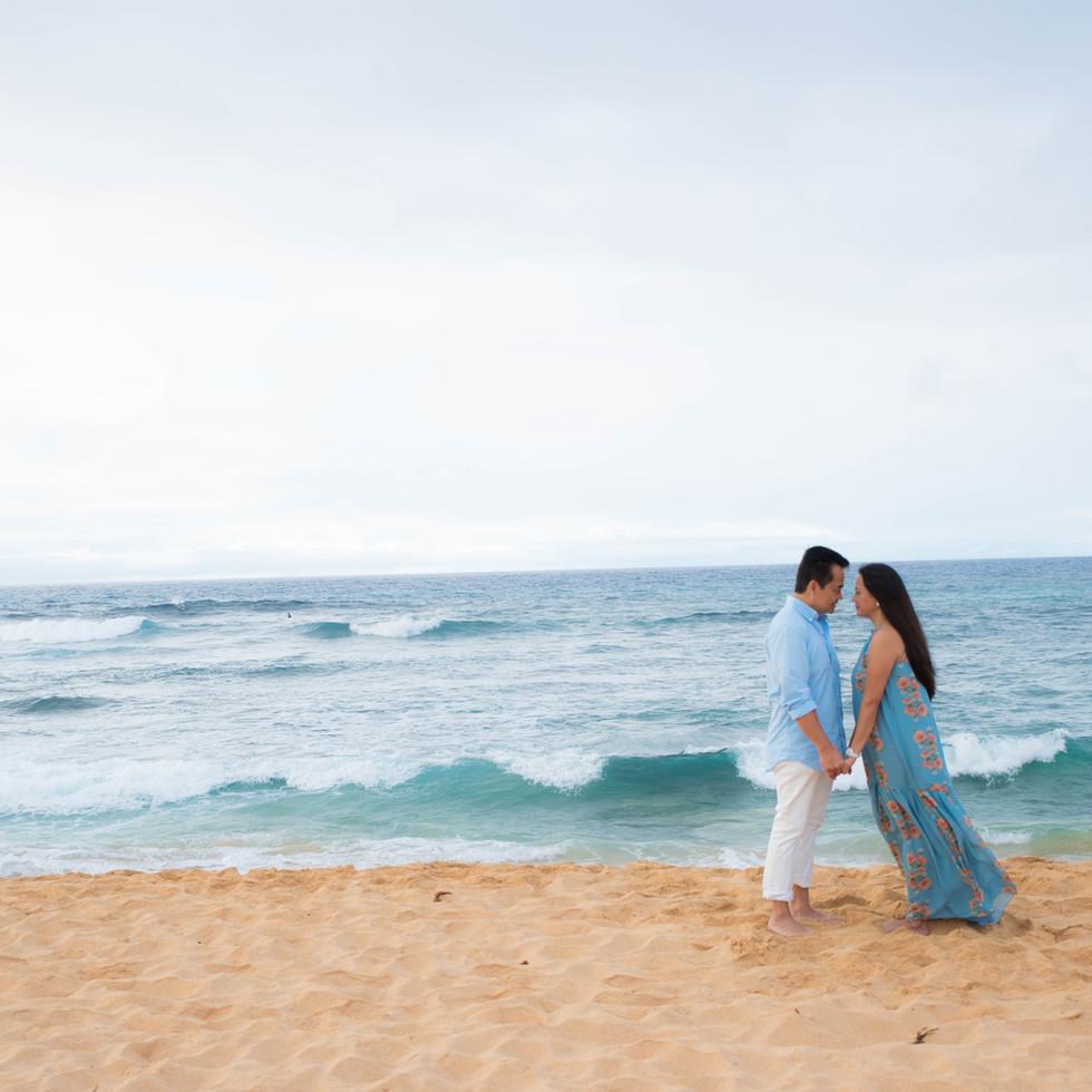 Couple at Sandy Beach
