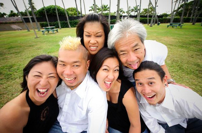 Crazy Family Portrait