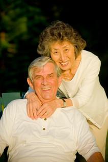 Grandpa and grandma