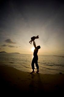 Baby toss