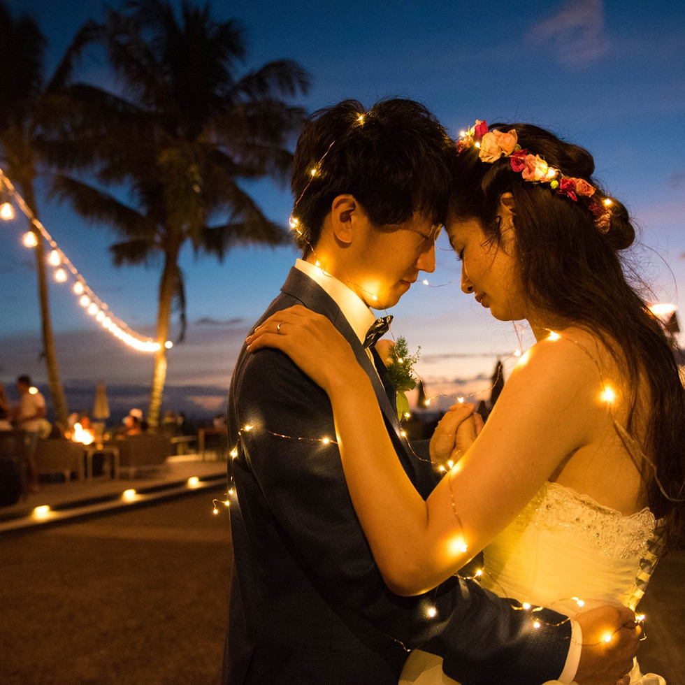 Romantic Sunset Dance at Twilight  Maui