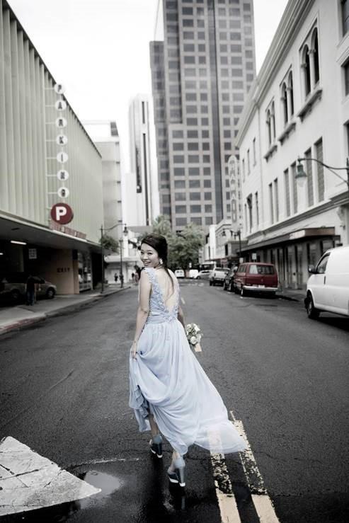 Downtown Honolulu Wedding
