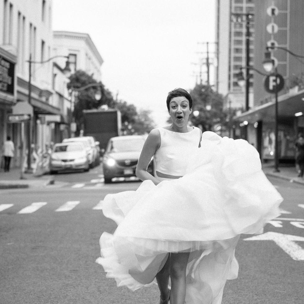 Wedding Dress Downtown Honolulu