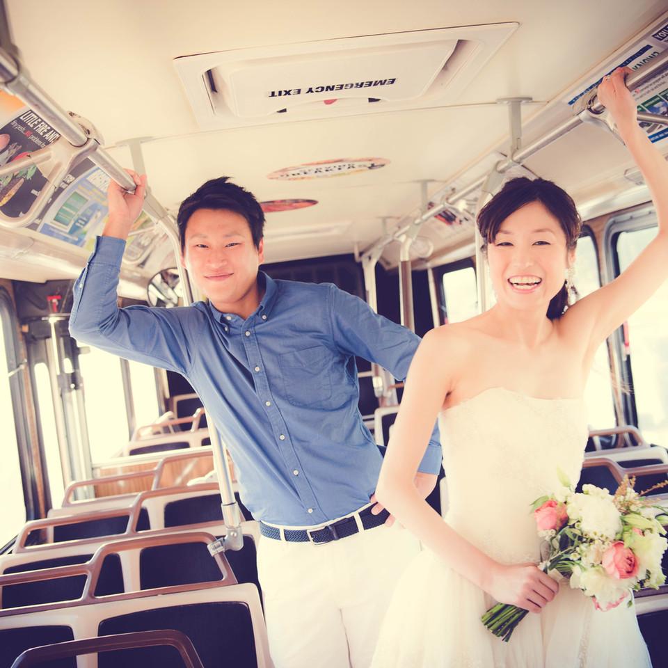 Wedding The bus Hawaii