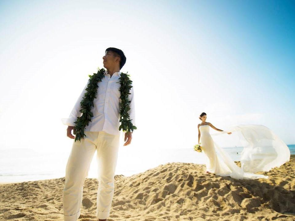 Bride and Groom Hawaii
