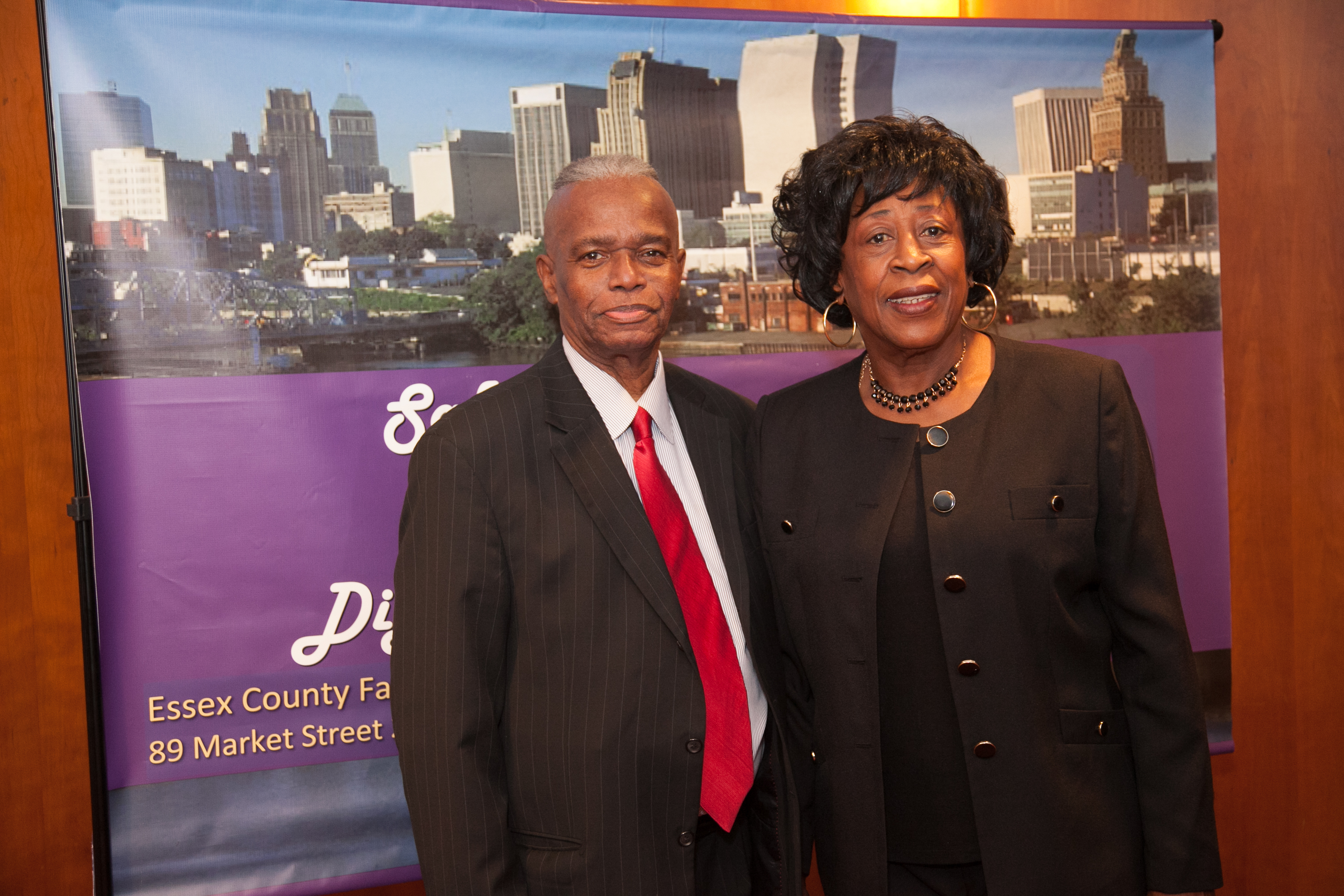Freeholder Jones + Commisioner WAlter Jacobs -Senior Services Advisory Council