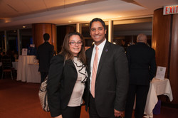 Betty Spiropoulos and Freeholder Bobadilla