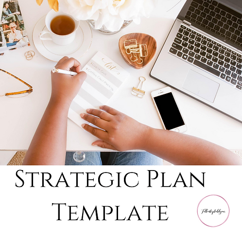 Your Strategic Plan Template
