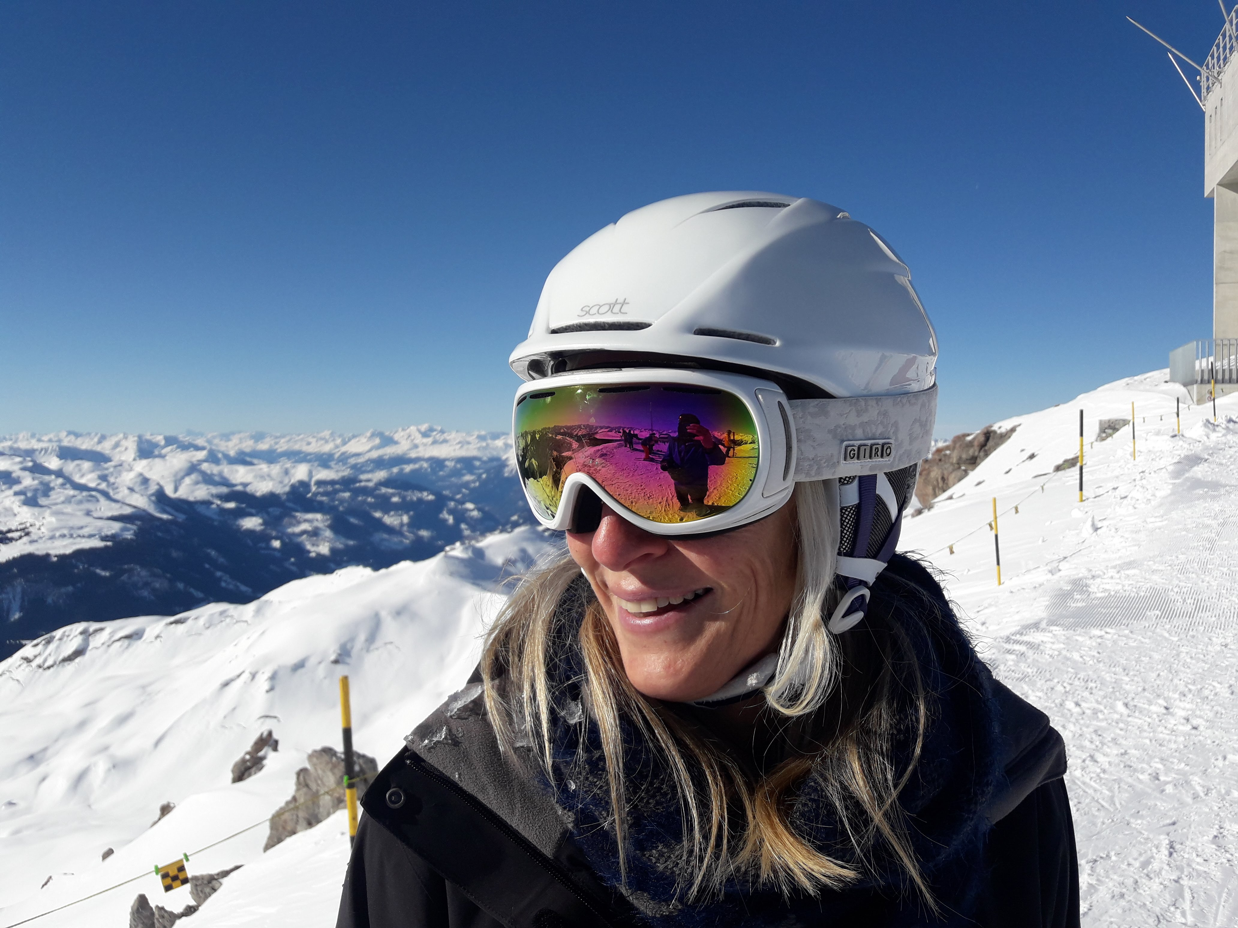 Andrea, private Ski Instructor for Ben&Joe's, ski school in Klosters  loves different cultutures!