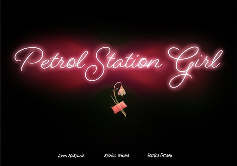 The official Petrol Station Girl 2020 Film poster