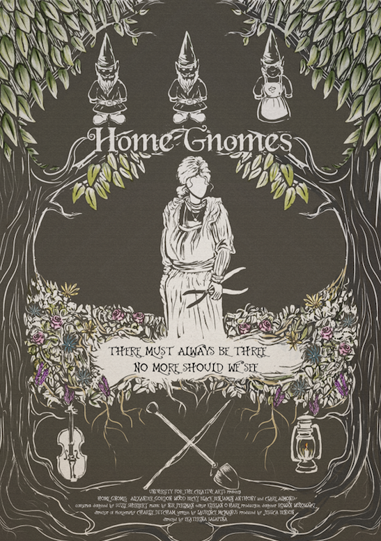 The official Home Gnomes (2020) Film Poster