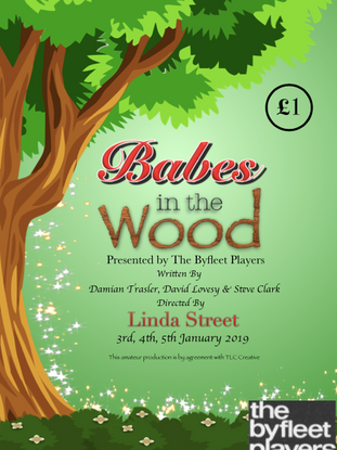Babes in the Wood Poster 2019