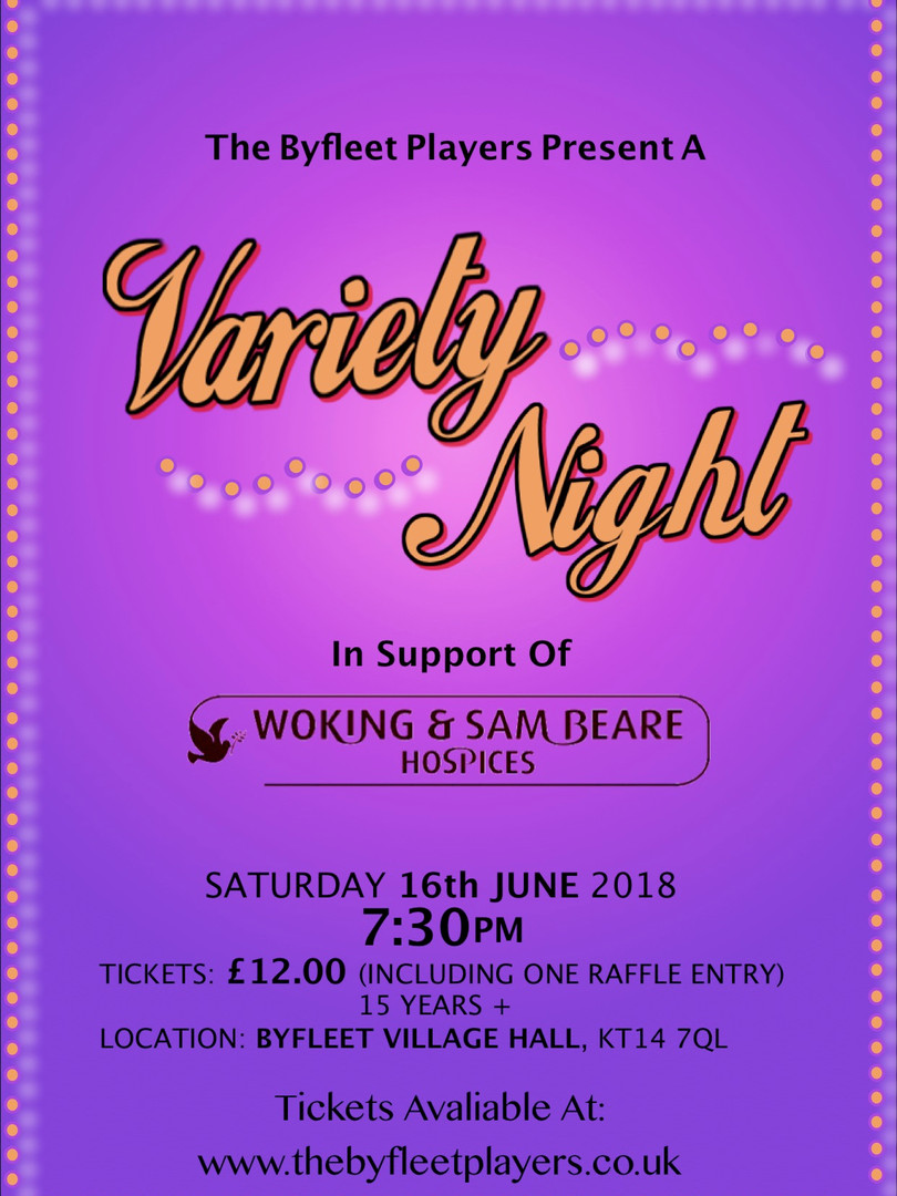 Vairety Night Poster 2018