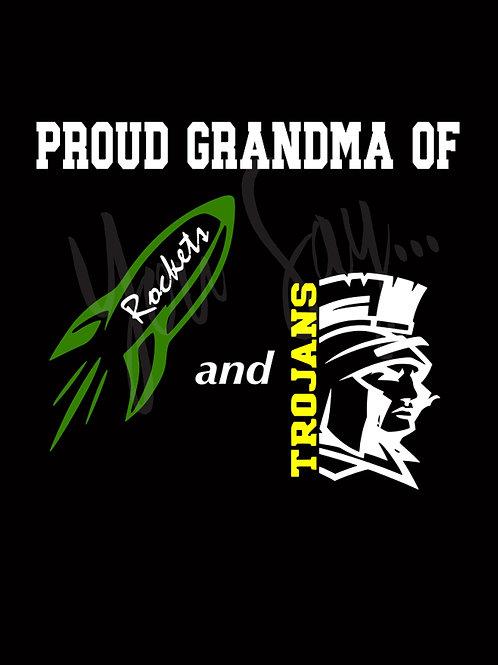 Proud Grandma/Grandpa of ...Zip Hoodie