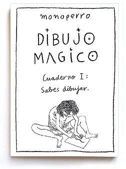 Portada Cuaderno I Dibujo Mágico de monoperro