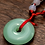 Thumbnail: Jade Stone Pendant Necklace
