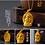Thumbnail: 18K Gold Plated  Buddha Statue Amulet Pendant Necklace