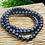 Thumbnail: 10mm Tetrahatz Health Stone Braded Bracelets