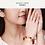 Thumbnail: Couple Bracelets Black Matte Onyx and Red, Natural Stone Couple Bracelets