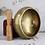 Thumbnail: Nepal Handmade Copper Buddha Tibetan Bowl Ritual Music Therapy Chime, 15cm