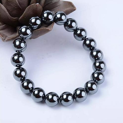 10mm Tetrahatz Health Stone Braded Bracelets