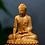 Thumbnail: Boxwood 10CM Thailand Sakyamuni Wood Buddha Statues